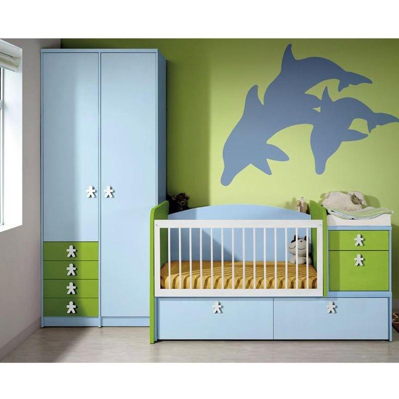 Habitación infantil para bebés.