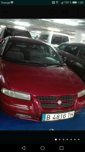 Chrysler Stratus 2001