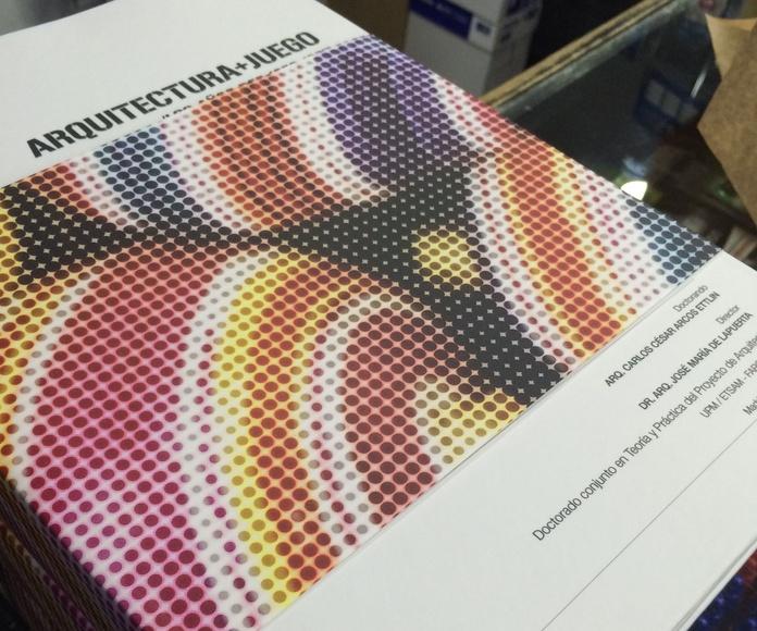 Encuadernación al Cromo: Servicios  de Centro de Impresión