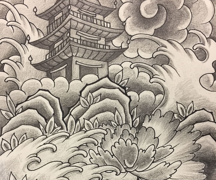 Paisaje oriental