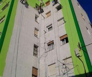 Revestimiento y pintura de fachada  verticalistas Santander-Torrelavega.