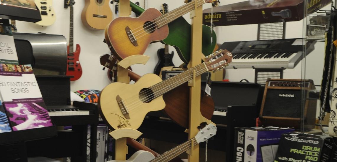 Tienda de música en Bilbao para guitarristas