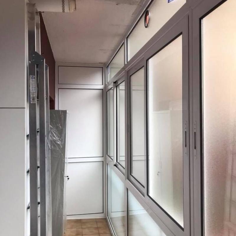 Cerramientos y armarios: Servicios de Aluminio Pastor