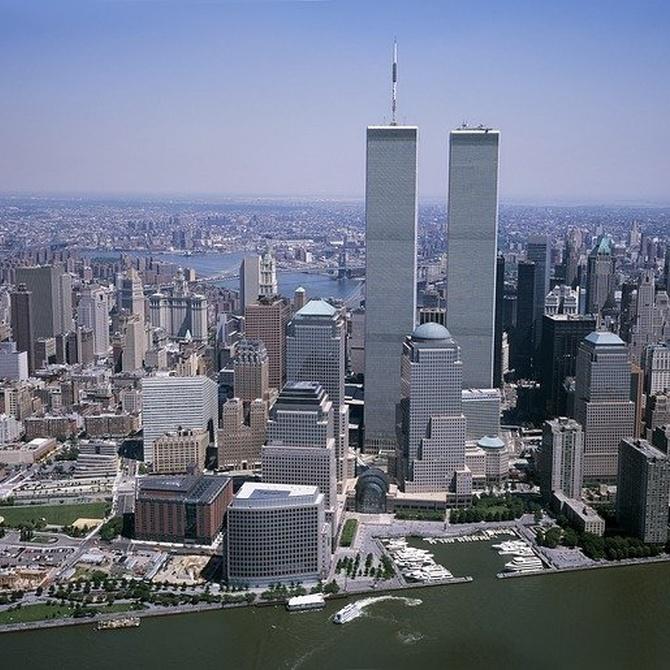 Los escombros del World Trade Center