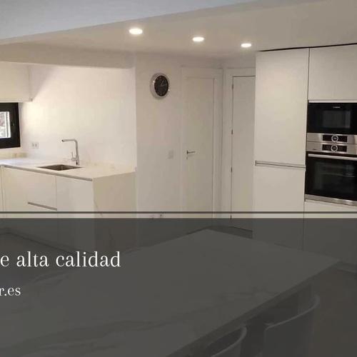 Muebles de cocina a medida en San Sebastián de los Reyes | Alfenadecor