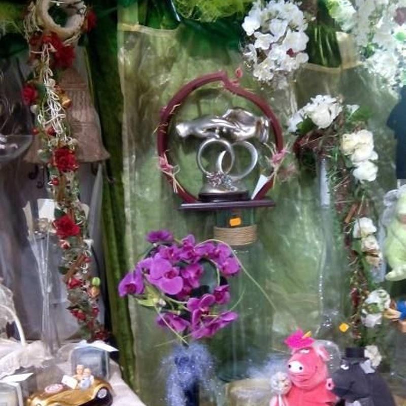 Ideas de regalo para bodas: Productos de FLORISTERÍA CASA BASUSTA