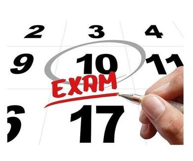 Calendario Exámenes Oficiales