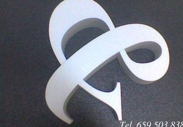 Letras de poliespan