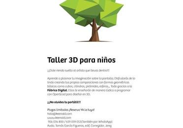 Diseño 3D para niños
