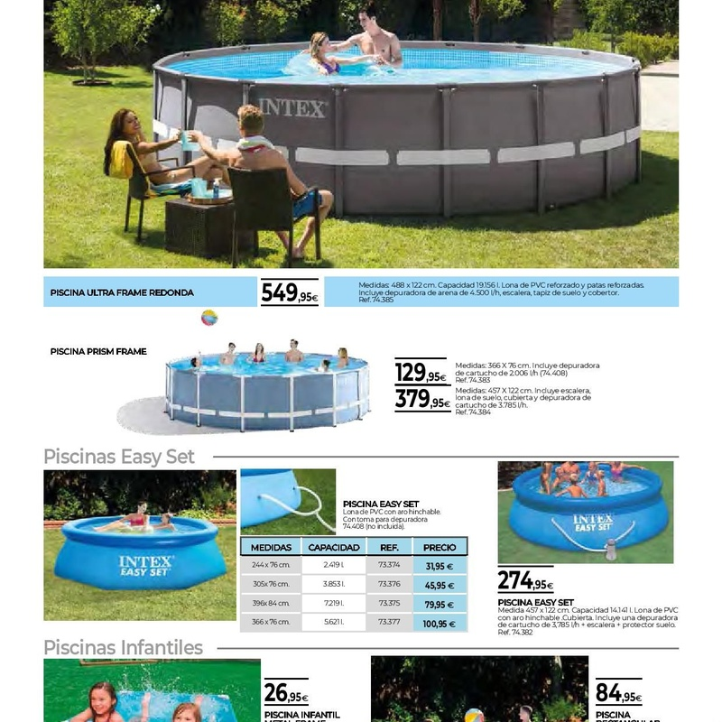 Piscinas: FOLLETOS OFERTAS de Mor-Mat