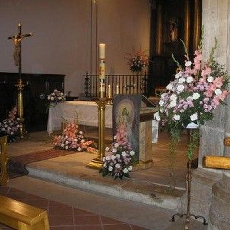 Decoración floral: Servicios de Floristería Muscari