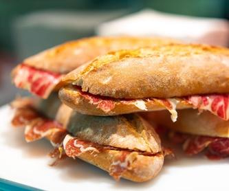 Carnes: Carta y Raciones de Bar Restaurante Almanzor