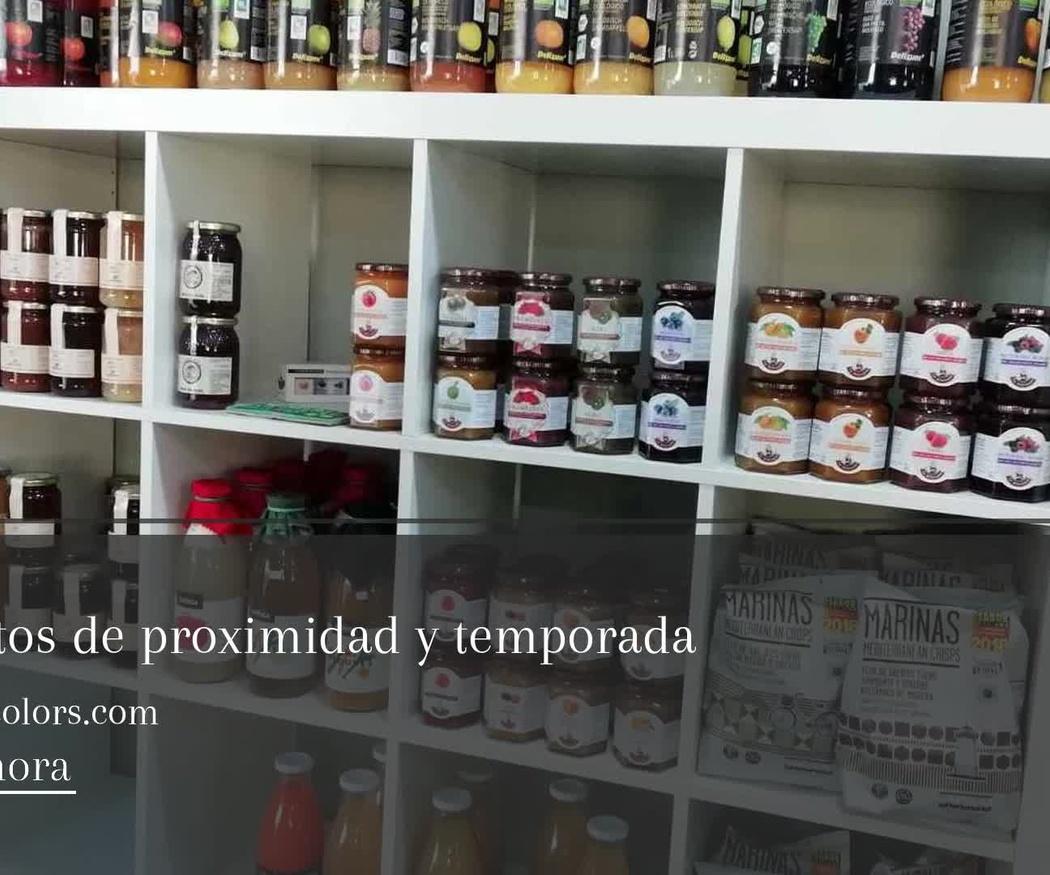 Tienda alimentos ecológicos en Sitges | Gust i Colors