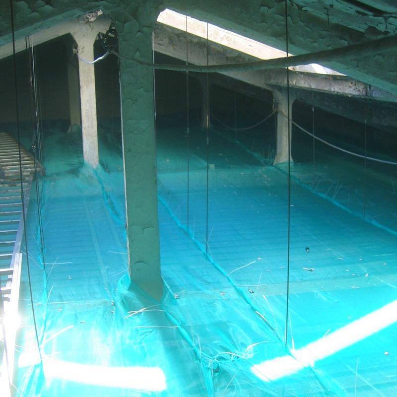 Colocación de red de protección con trabajos verticales Santander.