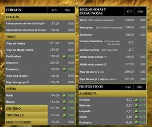 Lonja de Albacete 22.11.18 Cereales & Almendra