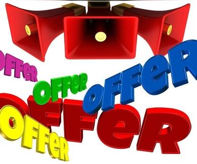 Ofertas disponibles en web