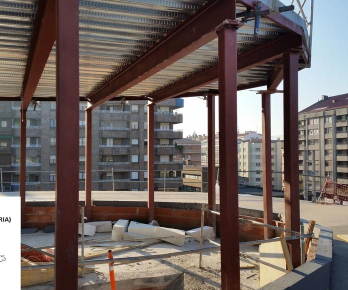 5000 m² SATE en Palacio Europa (Vitoria): Servicios de Jorge Pinturak Margoak S.L.U.