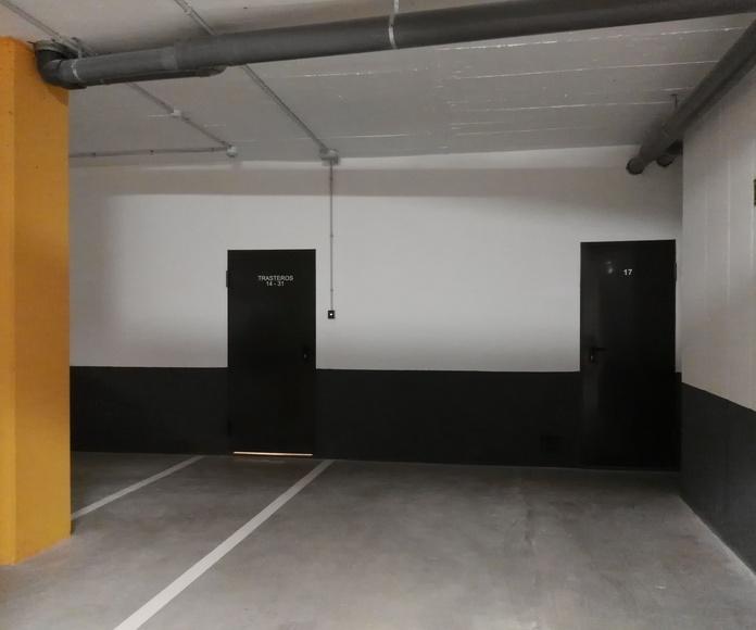 Señalización -pintado de Parking