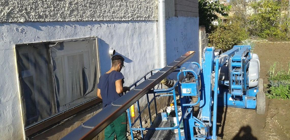 Última tecnología en la fabricación de canales en Zaragoza