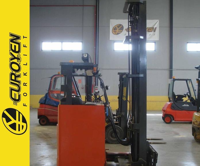 Carretilla retráctil NISSAN Nº 5945: Productos y servicios de Comercial Euroyen, S. L.