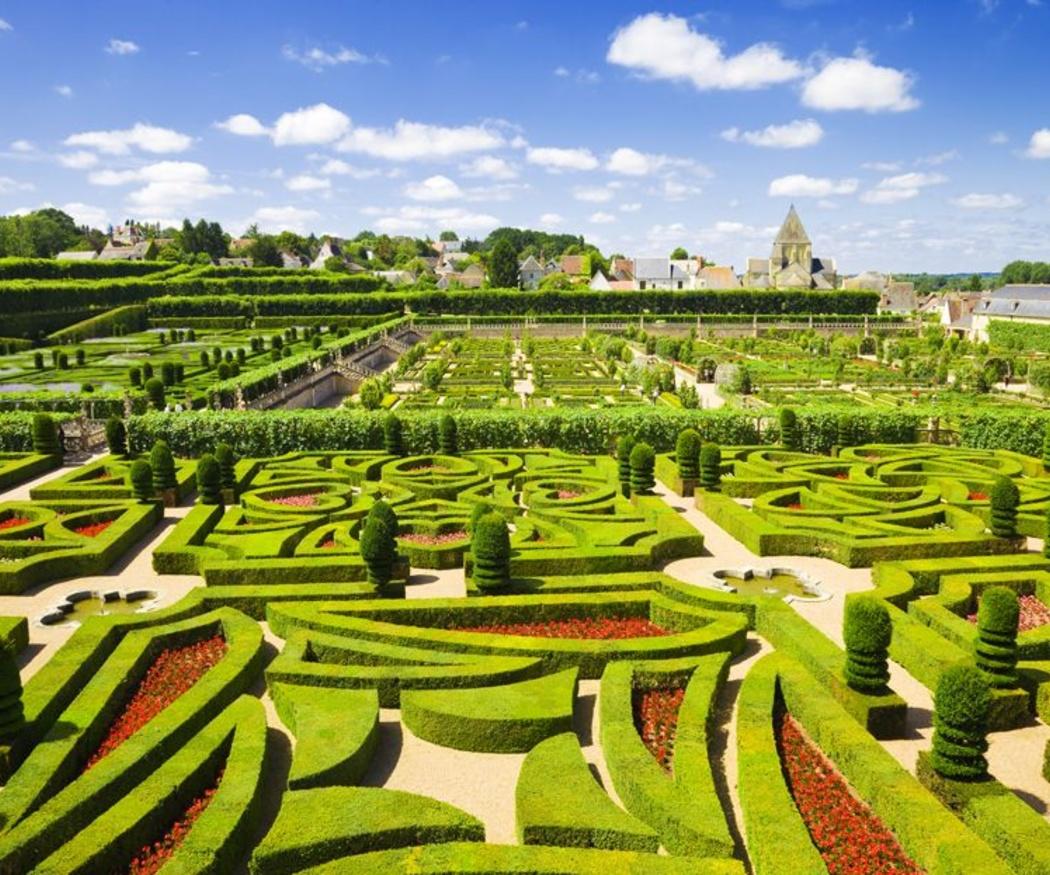 Características del jardín francés