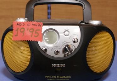 Radio CD PHILLIPS
