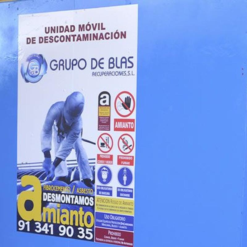 Desmantelamiento instalaciones Amianto: Catálogo de Autodesguaces De Blas