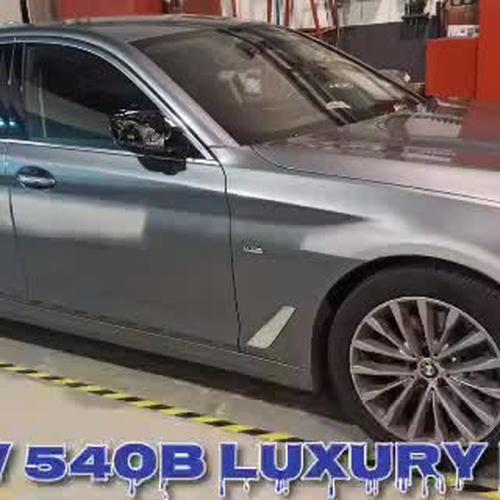 REPARACIÓN Y PINTURA BMW 540d Luxury line
