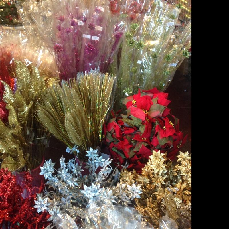 Varas flor decoración