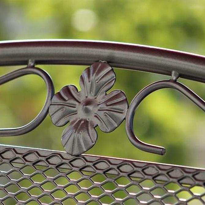 Mantener los muebles de hierro en perfecto estado