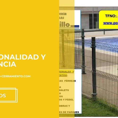 Vallas y cerramientos en Ciudad Real | Ferretería y Mallas Portillo