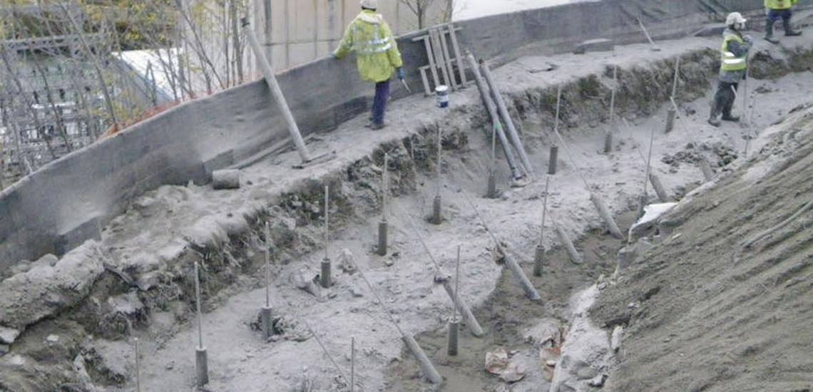Estudio de cimentaciones Oricain, Navarra