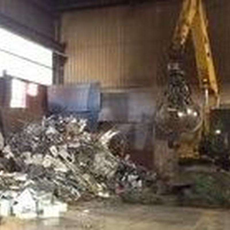 Compra-venta de metales en Vizcaya