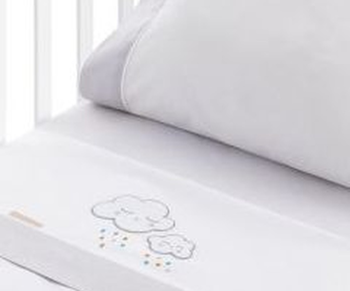 Juego de sábanas infantil bordado