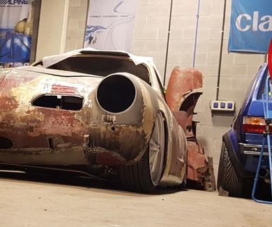 VW Karmann Ghia - Body test