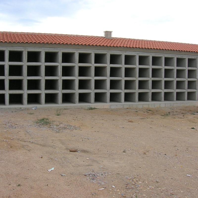bateria de nichos prefabrcados Ciudad Rodrigo