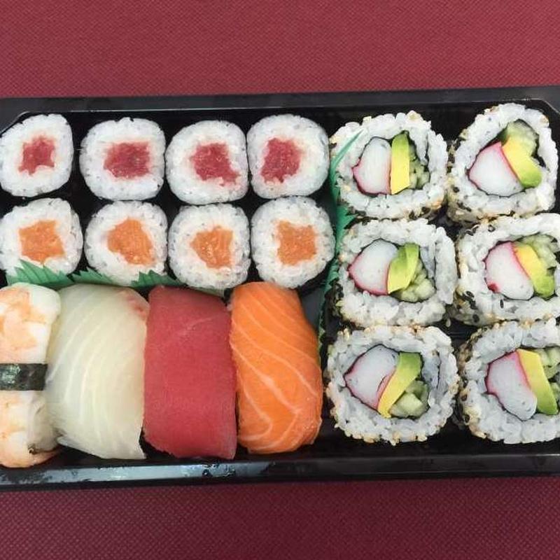 Menú 4: Especialidades y menús de Sushikai Tarraco