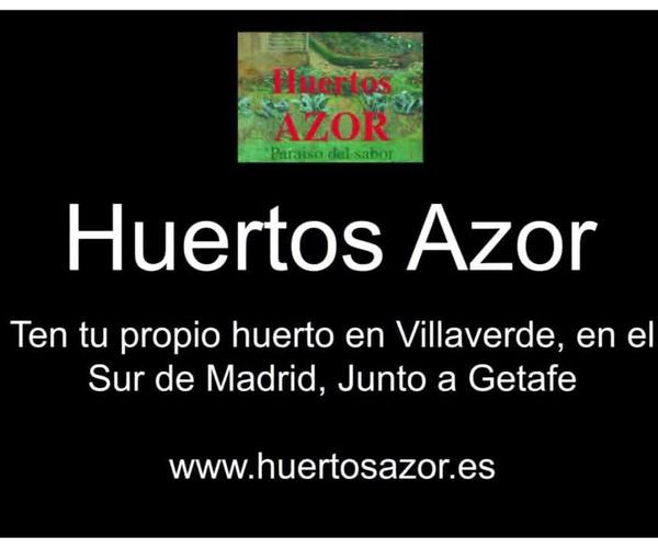 Huertos Azor - Tu huerto en Madrid