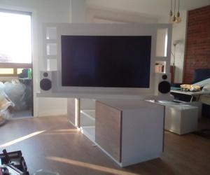 Muble giratorio televisor