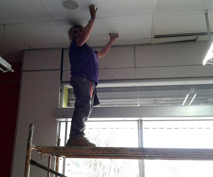 Limpiezas de techos: Servicios de Limpiezas Unika