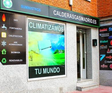 VENTA Y INSTALACION DE CALDERAS EN TORREJON