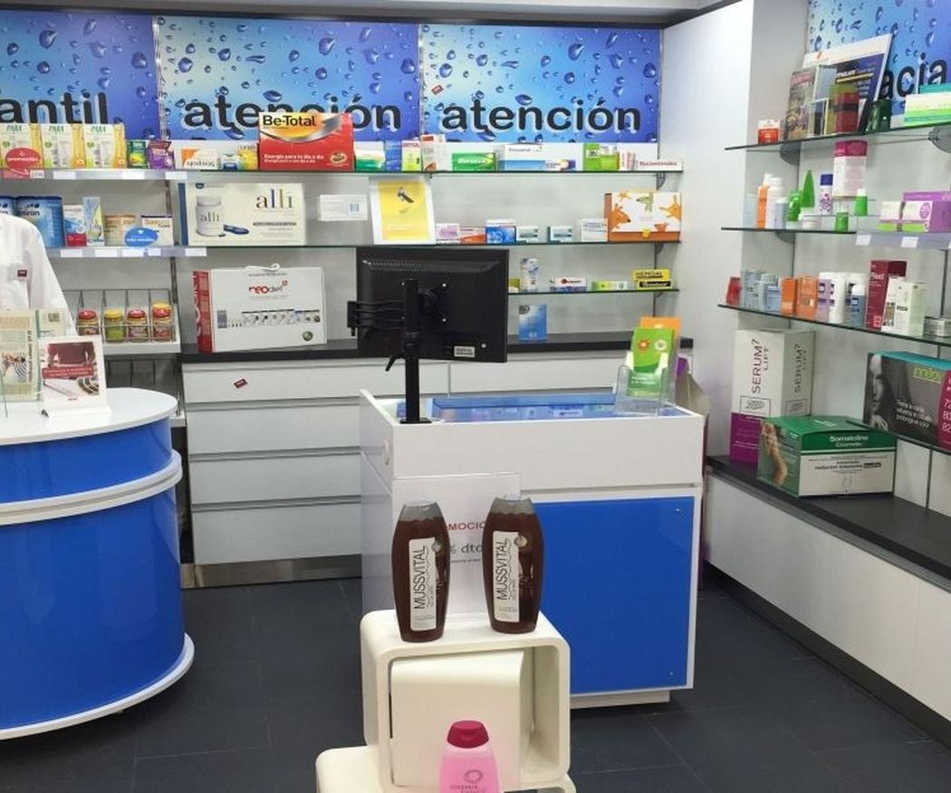 Las estanterías para farmacias