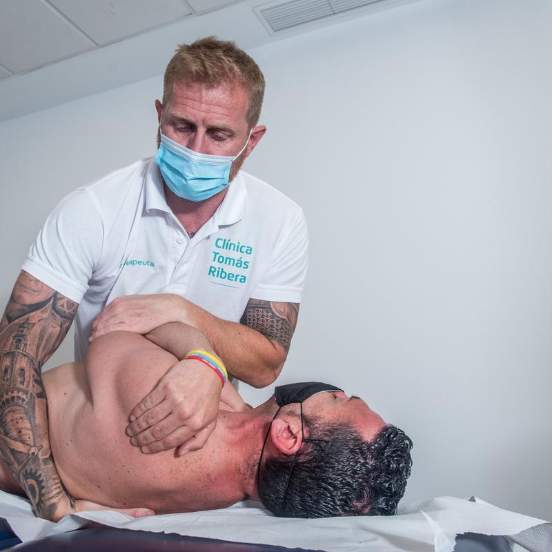 Osteopatía: Servicios de Clínica Tomás Ribera
