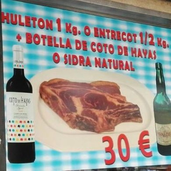 Comer Chuleton en Madrid