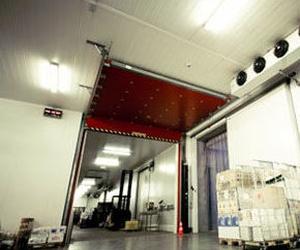 Puerta Seccional cortafuegos modelo Gibil resistencia al fuego