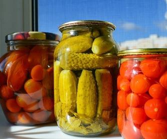 Productos alimenticios: Productos y servicios de Moresan Comercial Moreno Santana, S. L.