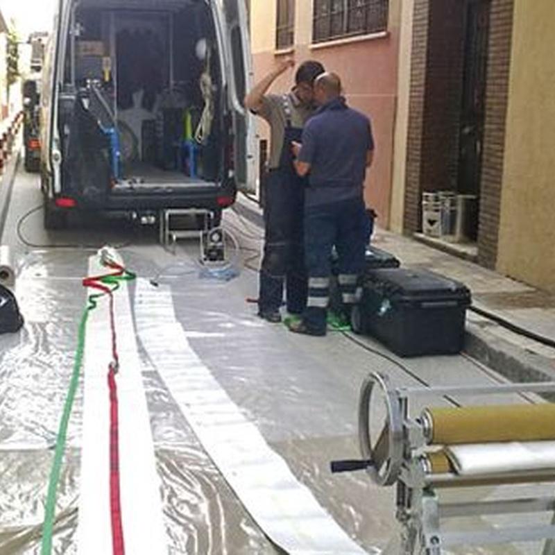 Reparación de tuberías: Servicios de Inspecciones Técnicas
