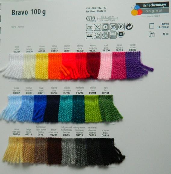 LANA BRAVO ART:9801213  100 GRMOS