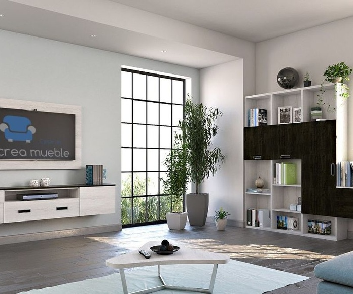 Mueble de salón a medida