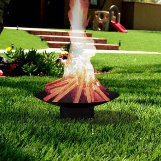 Los fuegos de jardín